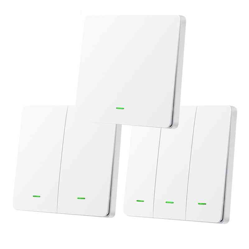 Wireless Smart Light Switch Support Zigbee 2mqtt Home Assistant