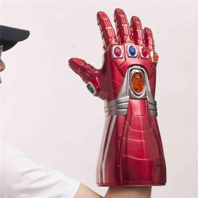 Led Light Iron Man Gloves - Tony Stark Superhero Cosplay Props