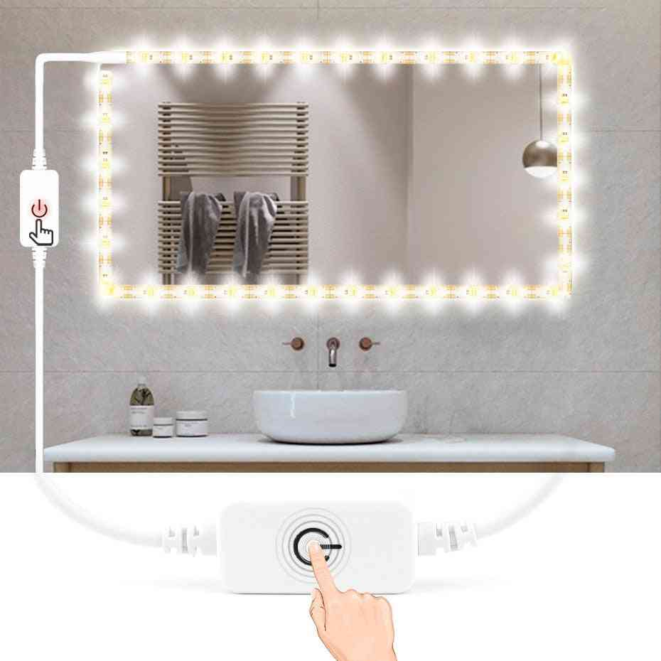 Usb 5v Waterproof Mirror Light -led Strip Makeup With Touch