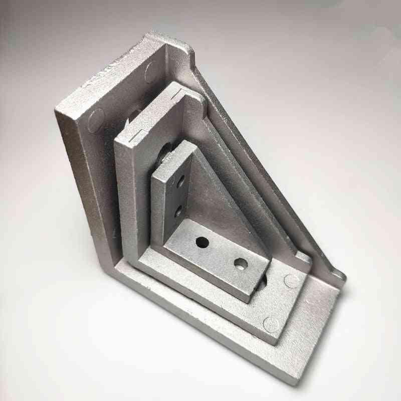 5/20pcs Aluminum Corner Bracket