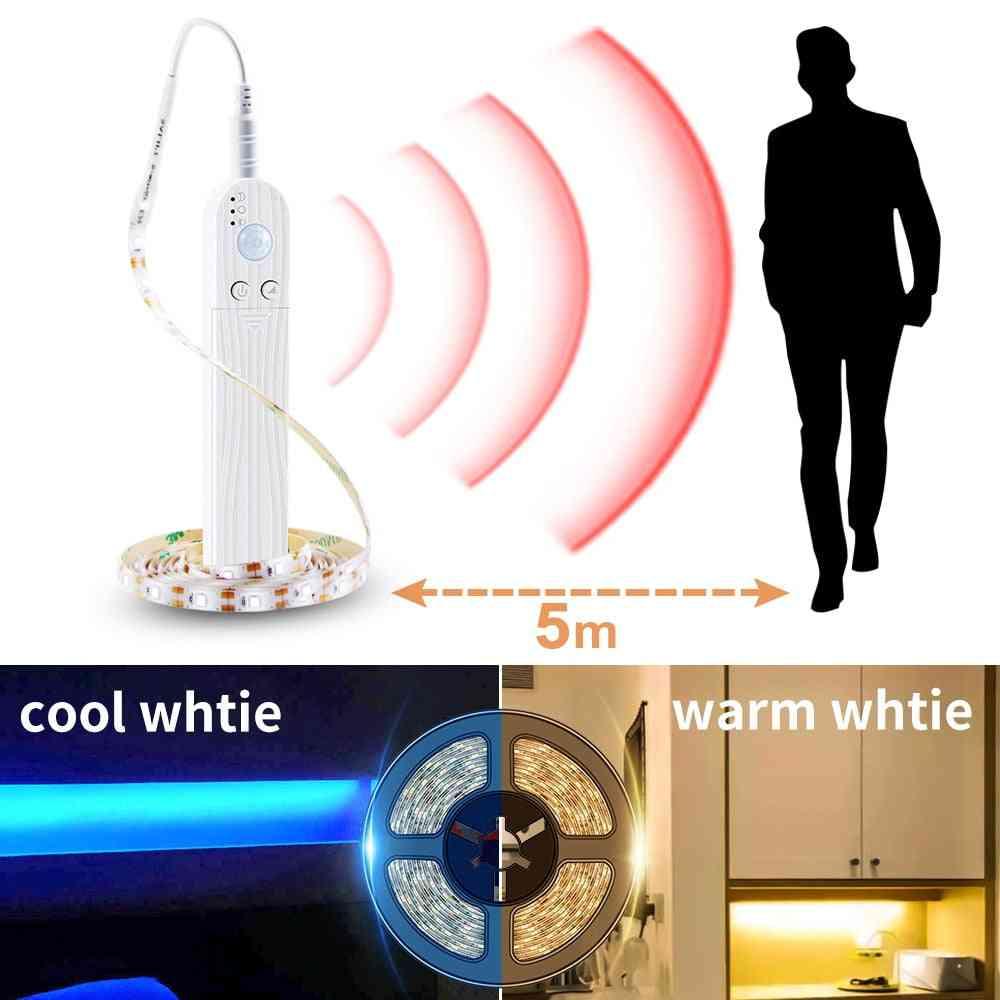 Led Motion Sensor Cabinet Light - Strip Switch Night Lamp