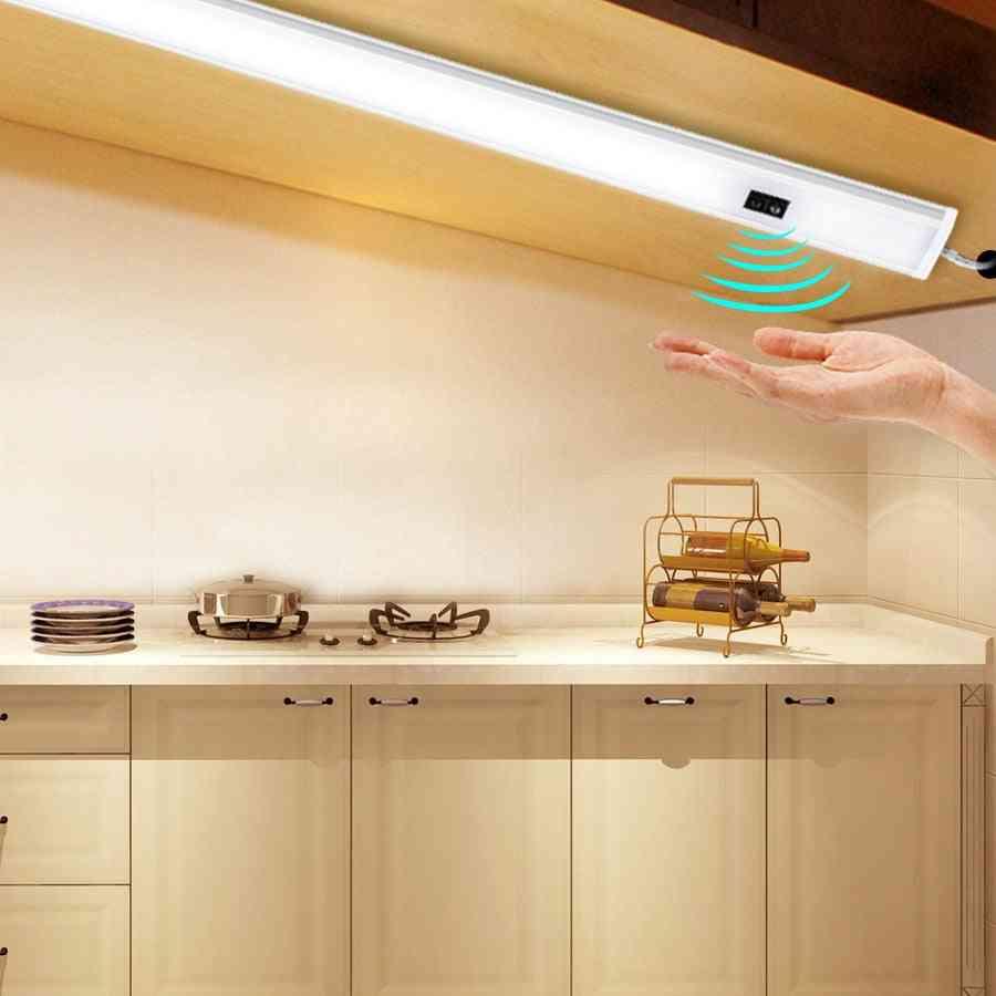 Dc 12v- Under Cabinet Led Lights, Hand Sweep Sensor For Kitchen/bedroom/closet