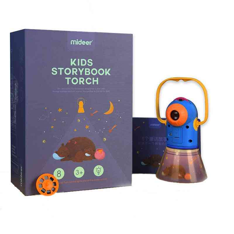 Portable Projector Light, Storybook Torch, Starry Sky Sleep Lamp
