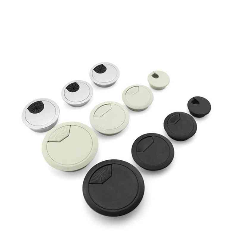 Desk Wire Hole Cover- Outlet Port Surface Line Box
