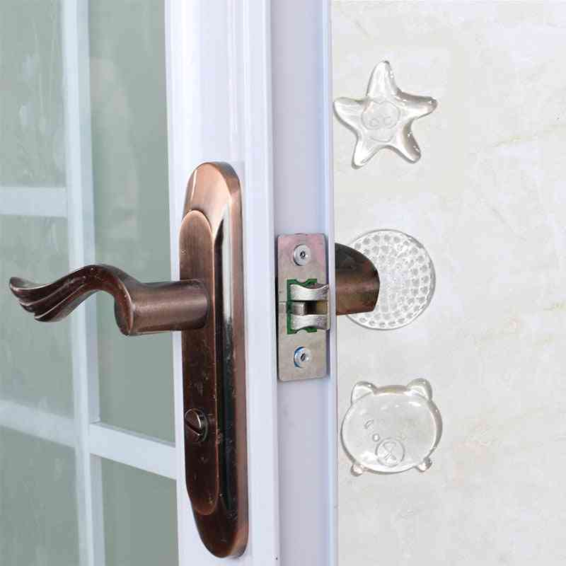 Door Stoppers - Wall Protection Safety Shock Absorber Handle Bumpers