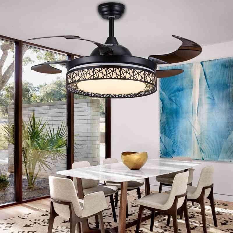 Retro Invisible Ceiling Fan Light