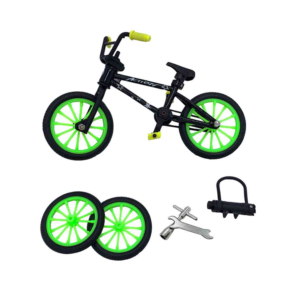 Alloy Finger Bmx Functional Bicycle Modle