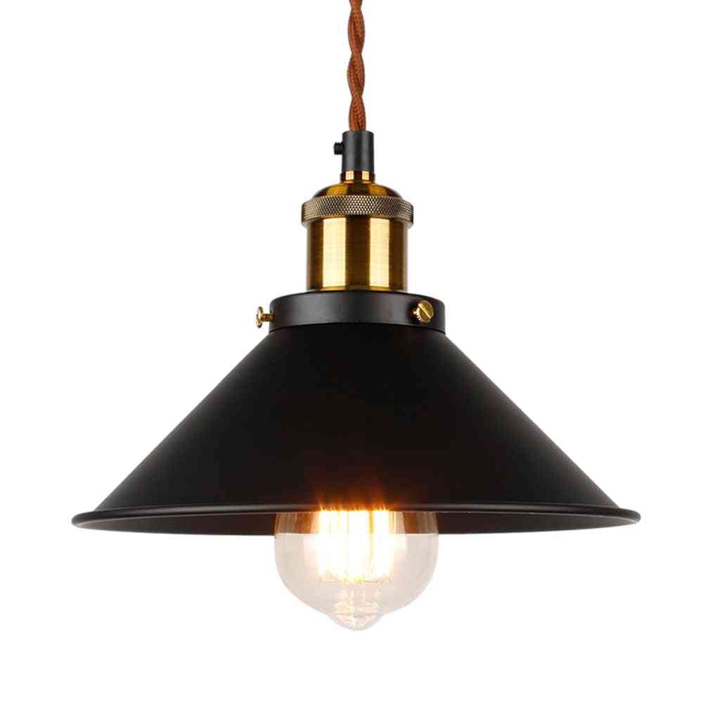 Industrial Pendant Light, Edison Lighting, Vintage Light, Metal Handing Lamp, Iron Light Fixture, Bronze