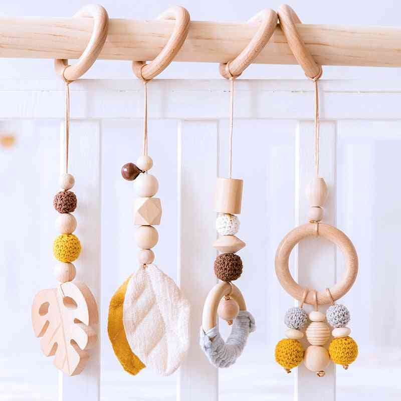 Animals Wooden Pendant For Baby Play