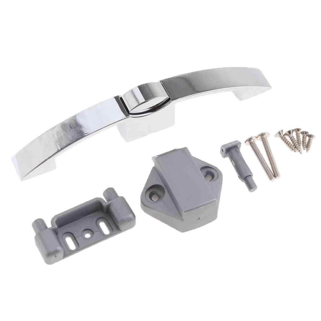 Zinc Alloy Push-pull Handle Lock For Door, Cabinet, Caravan, Yacht