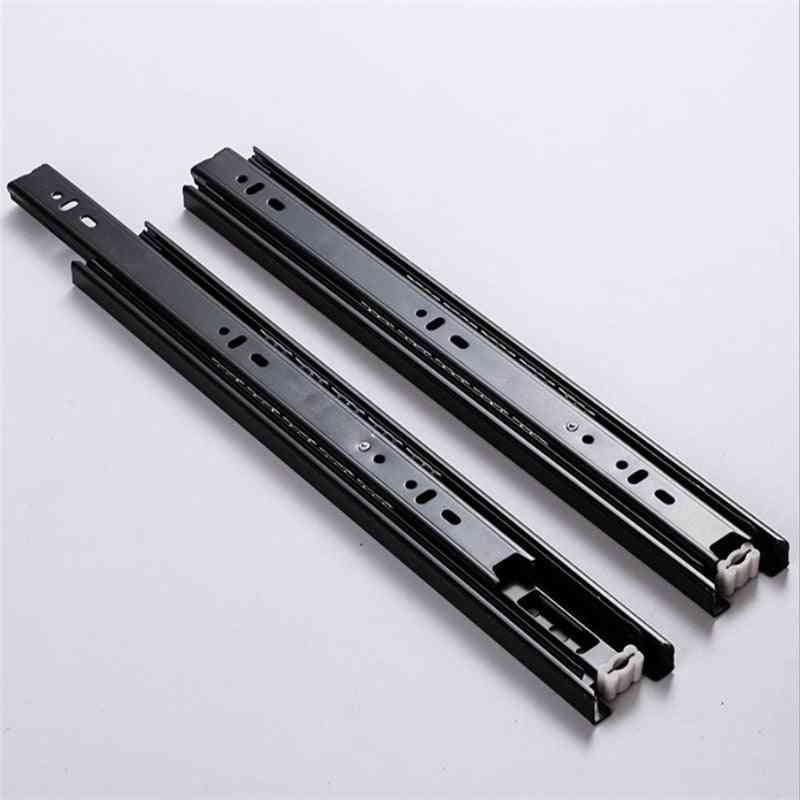 3 Section Sliding Rails For Drawers With Full Extension