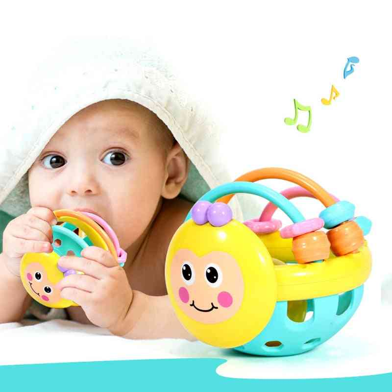 Soft Rubber Juguetes And Hand Knocking Toy For
