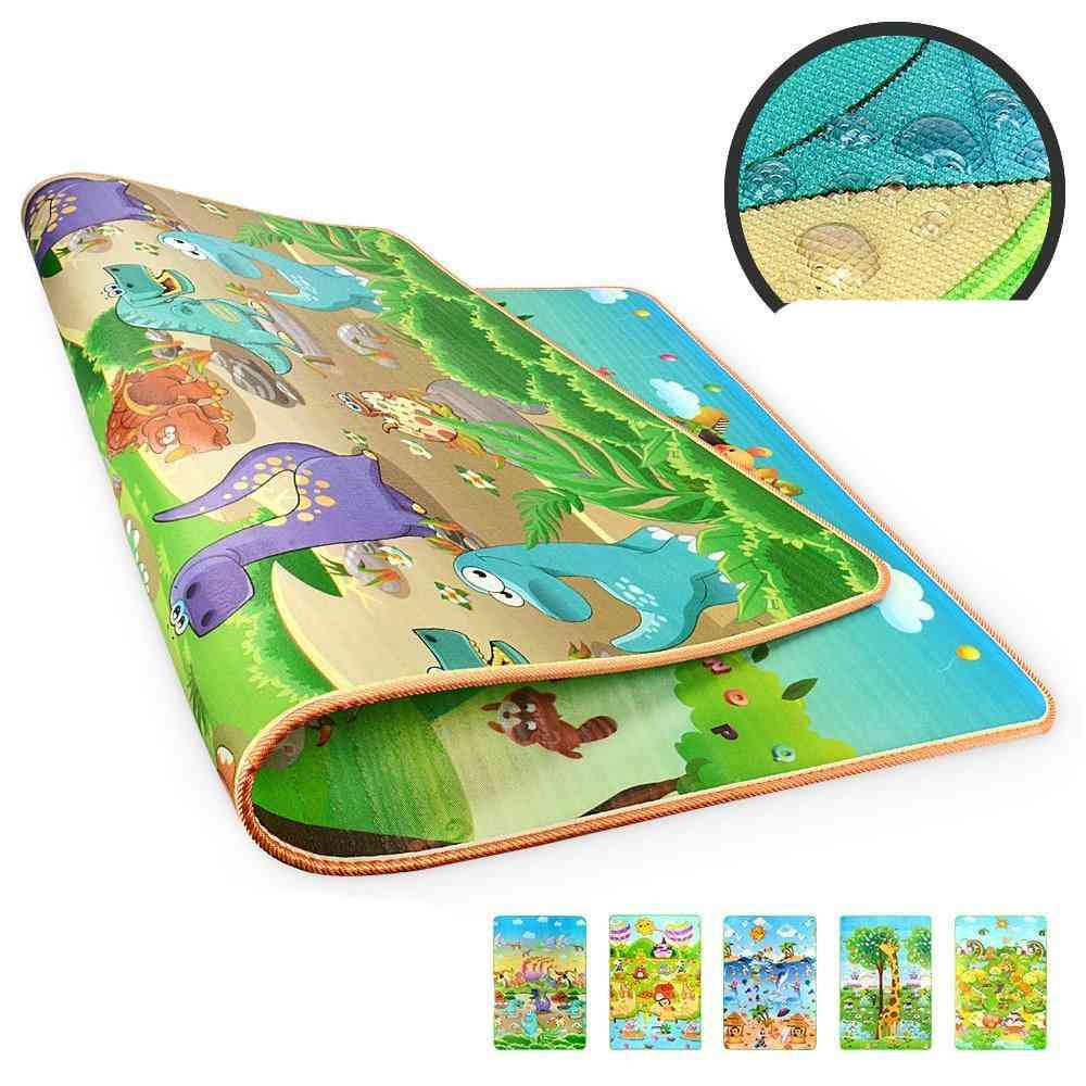 Rollable Baby Play Mat, Puzzle Carpet For Crawling Kids