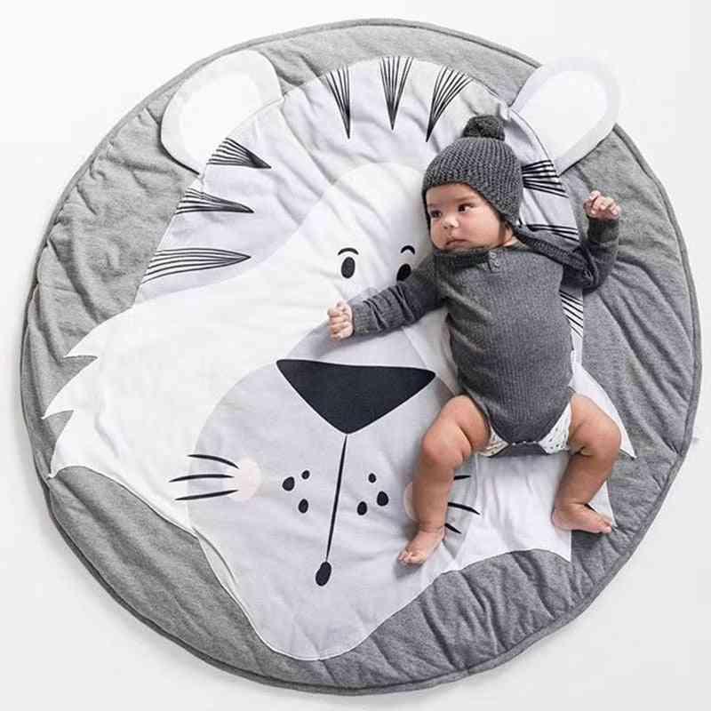 Cartoon Animal Shape Mats For Crawling - Kids Room Accessories