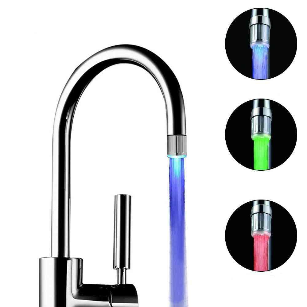 Led Temperature Sensitive Faucet