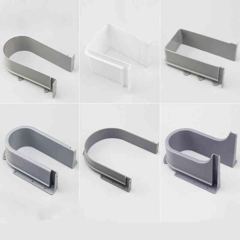 Bathroom Washbasin Sink Drawer Drain U-shaped Edge Banding Cabinet Drawer U Bezel Ring Sealed Slot Bathroom Accessories