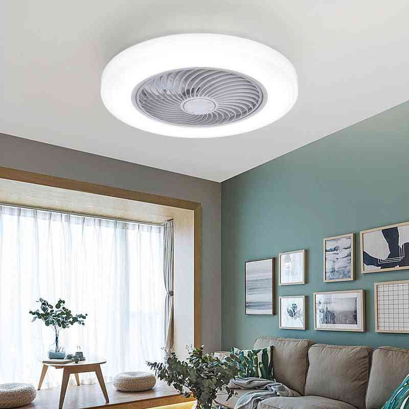 52cm Smart Ceiling Fans With Lights,  Remote Control For Bedroom Decor