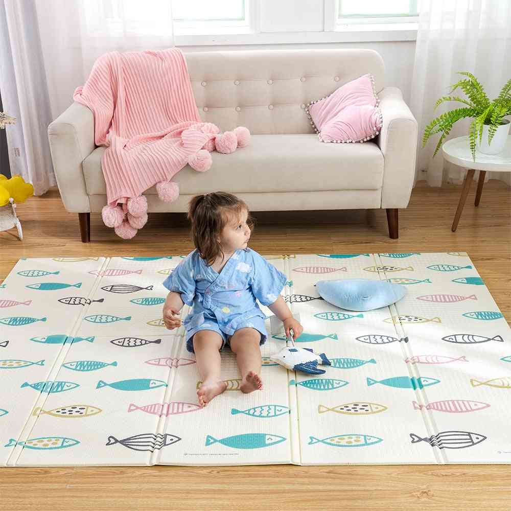 Baby Play Mat Puzzle, Thickened - Crawling Pad Folding Carpet