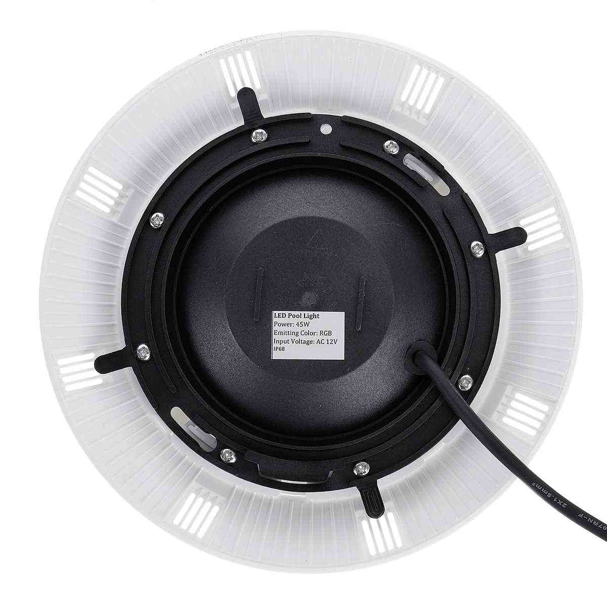 Rgb Led Swimming Pool Light -ip68 Waterproof With Ac12v-24v
