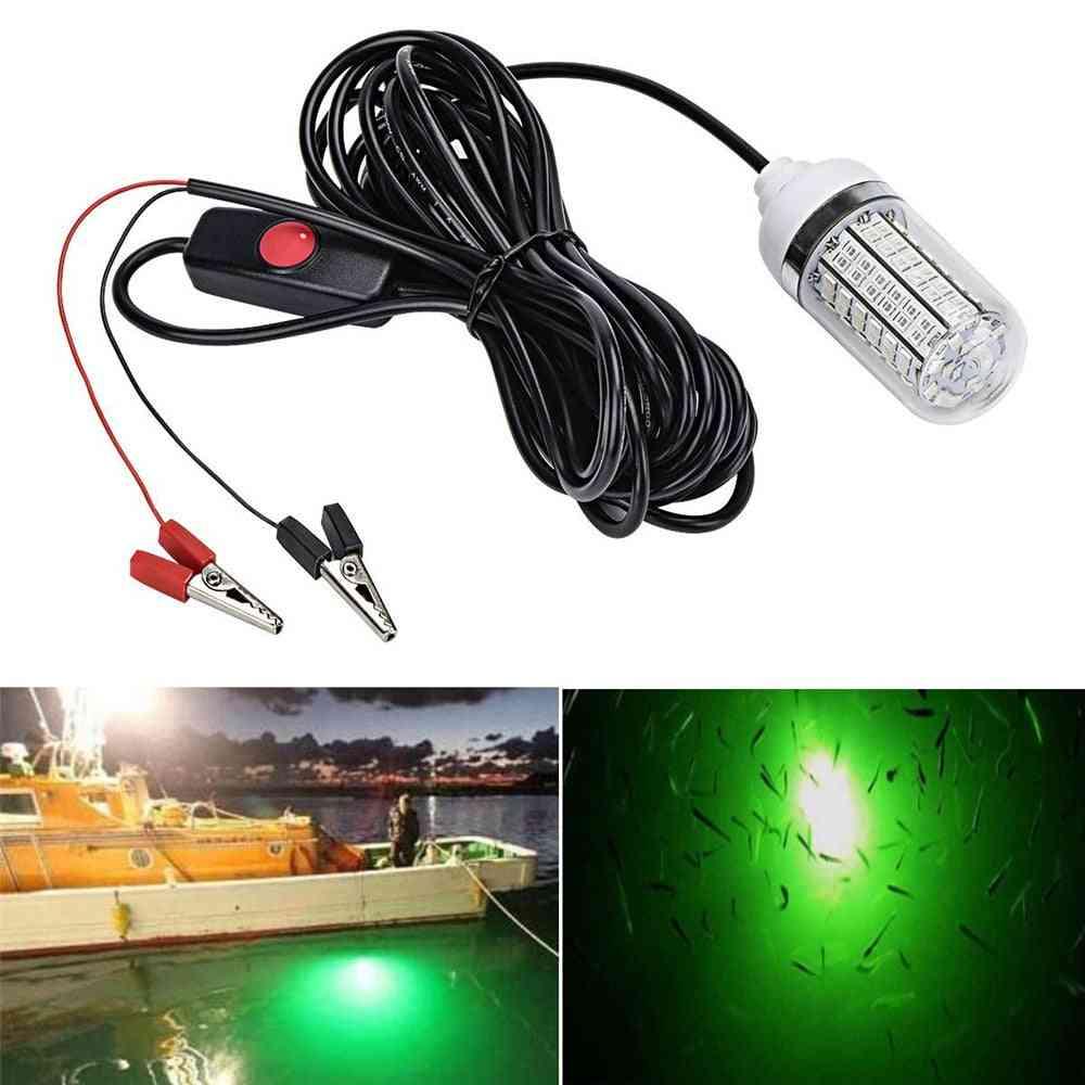 12v Fishing Light -2835 Led Underwater  Ip68 Lures Fish Finder Lamp