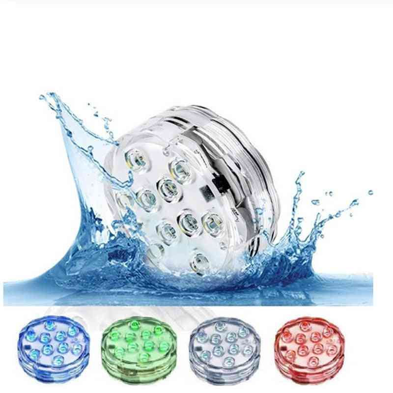 Rgb  Leds Swimming Pool Lights- With Remote Control