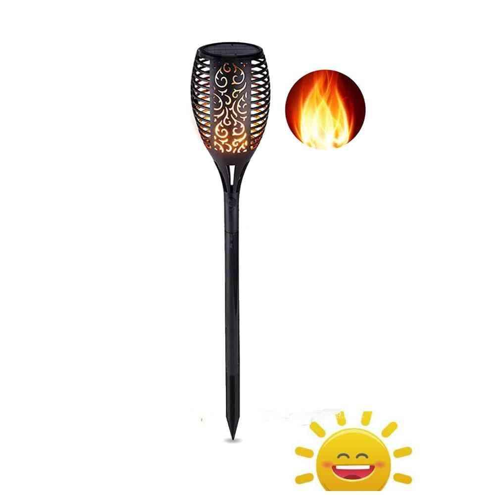 Waterproof, Solar Powered Led Flame-lamp