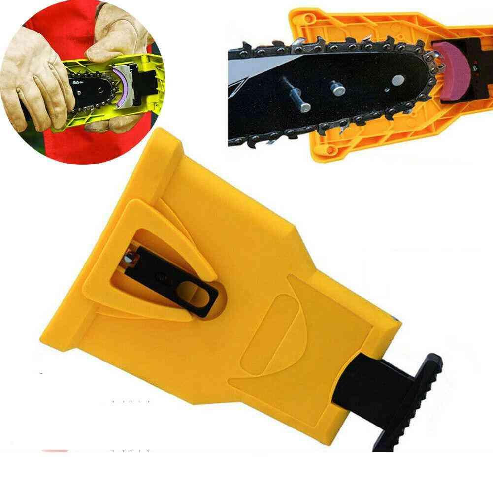 Portable Durable, Easy Power Chainsaw Teeth Sharpener