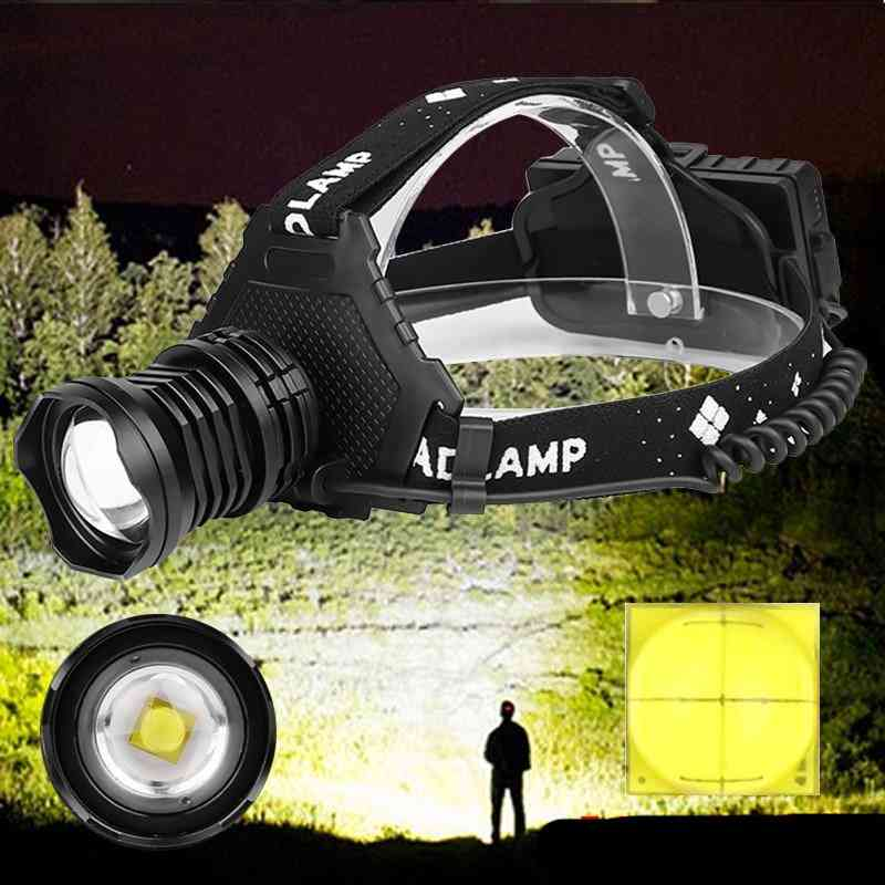 32w, Waterproof, Zoom Able-led Headlamp
