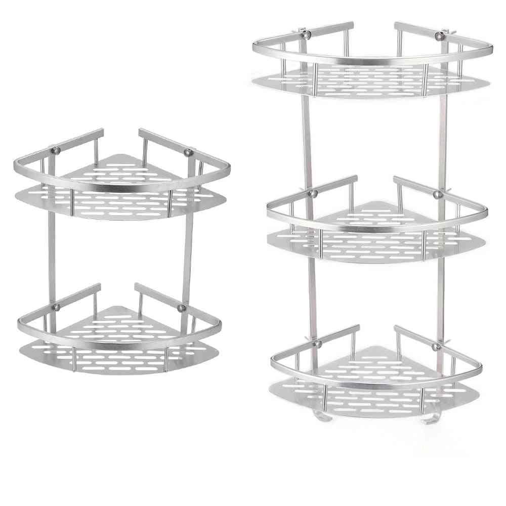 Aluminum Shower Shelf,  Bathroom Storage Organizer, Soap Dish