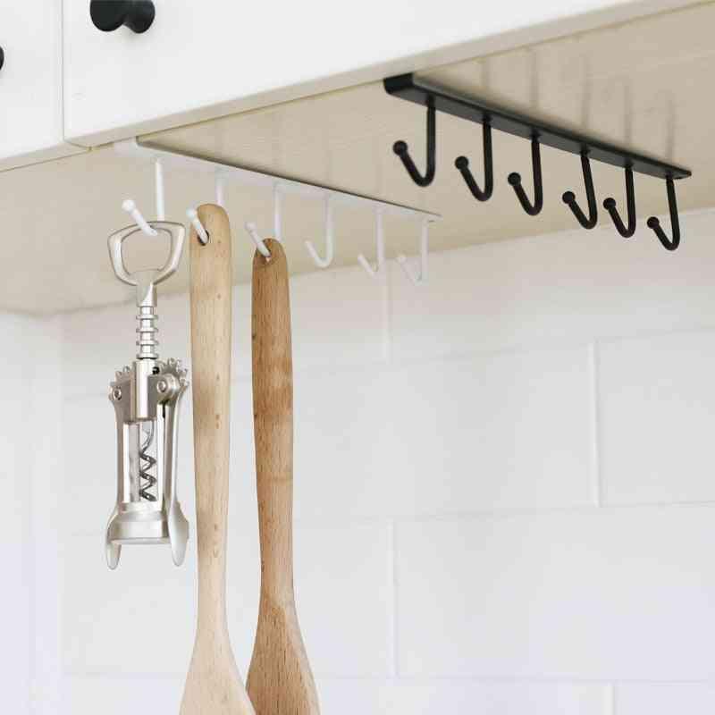Iron Art Clapboard Hanger, Wardrobe Multifunctional Hook