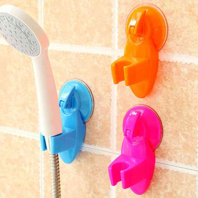 Strong Attachable Shower Bath Head Holder Movable Bracket Seat