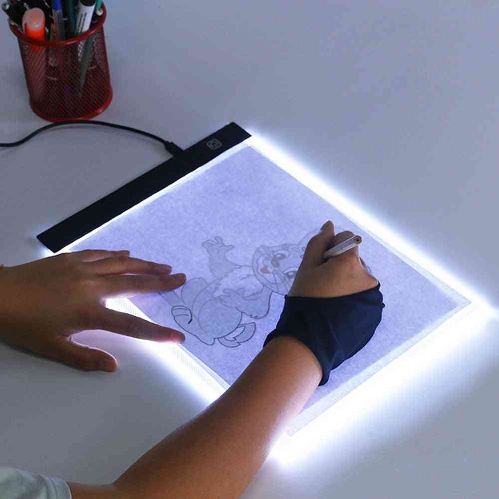 A4 Led Painting Tracing Board - Copy Pad Panel Drawing Tablet