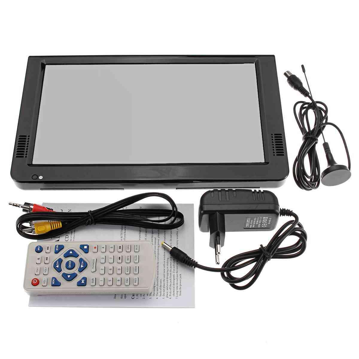 Portable Dvb Tft Led, Hd Tv Television