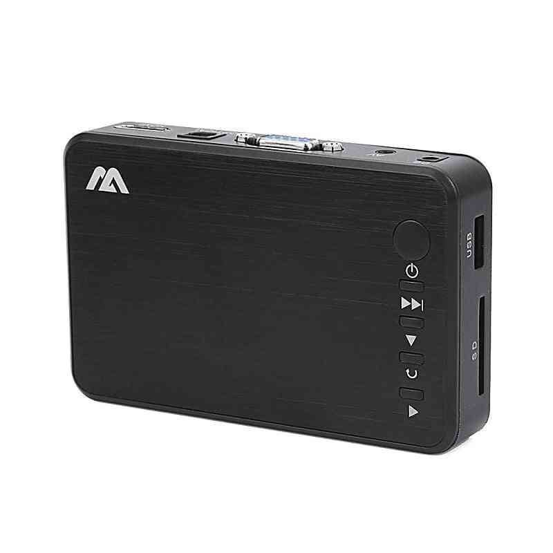 Full Hd- Mini Multi Media Player Center