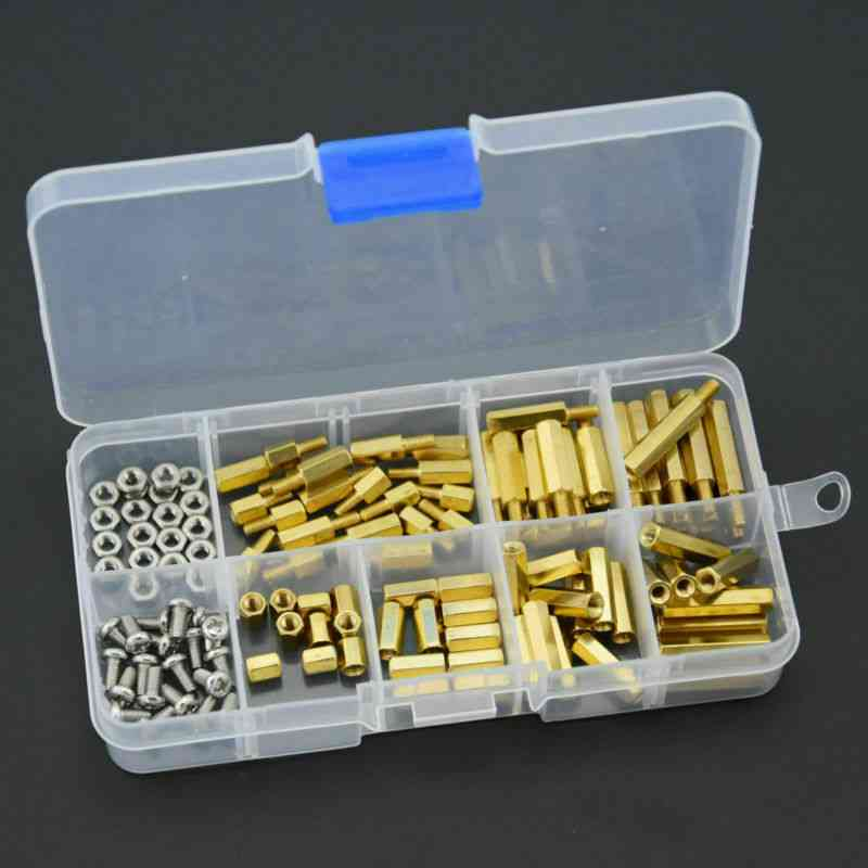 M3 Brass Gasket Bracket And Nut Screw Sorting Kit