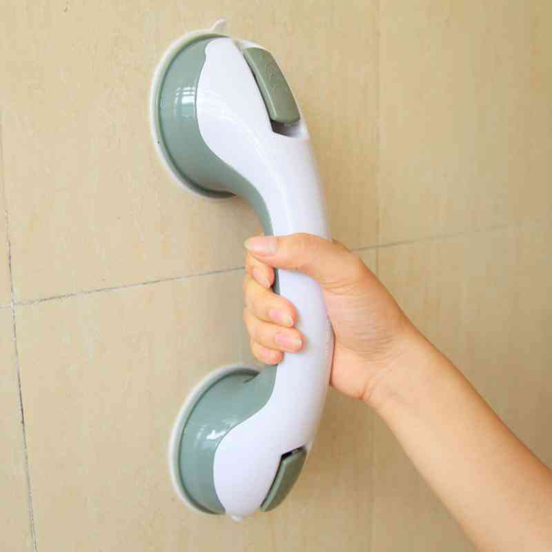 Anti-slip Helping Hand Grab Bar With Strong Vacuum Suction Cup