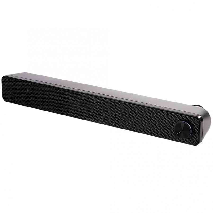 Dual Speaker, 3d Stereo Sound System For Pc/tv