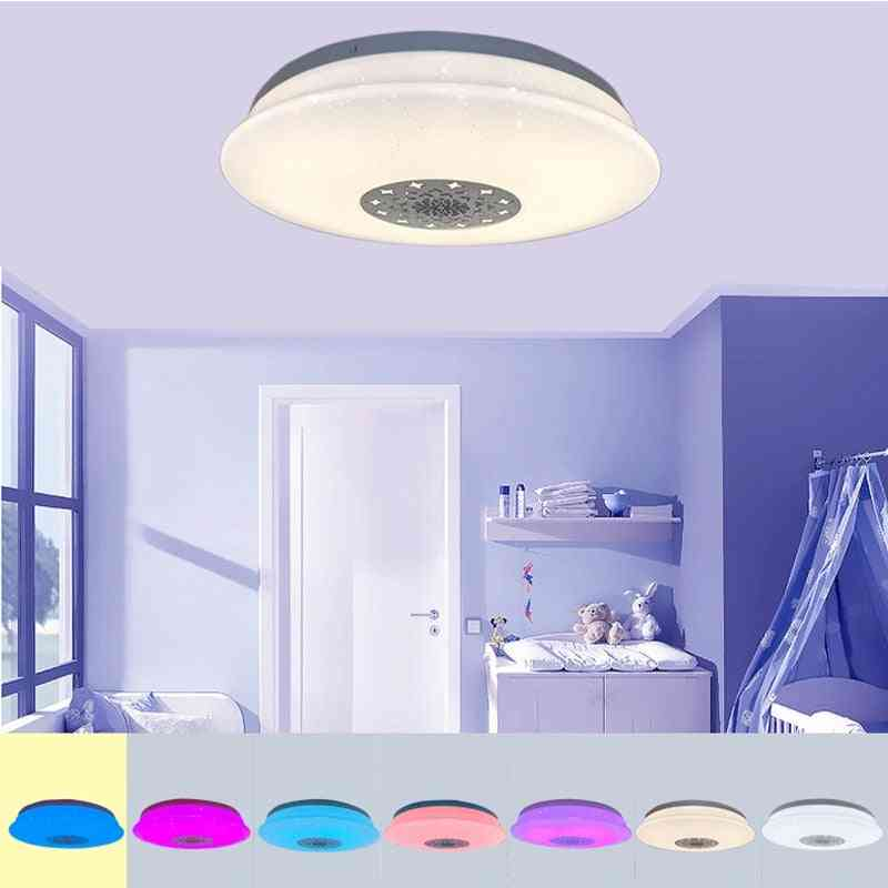 Smart Led Bluetooth, Music Ceiling With Remote Control