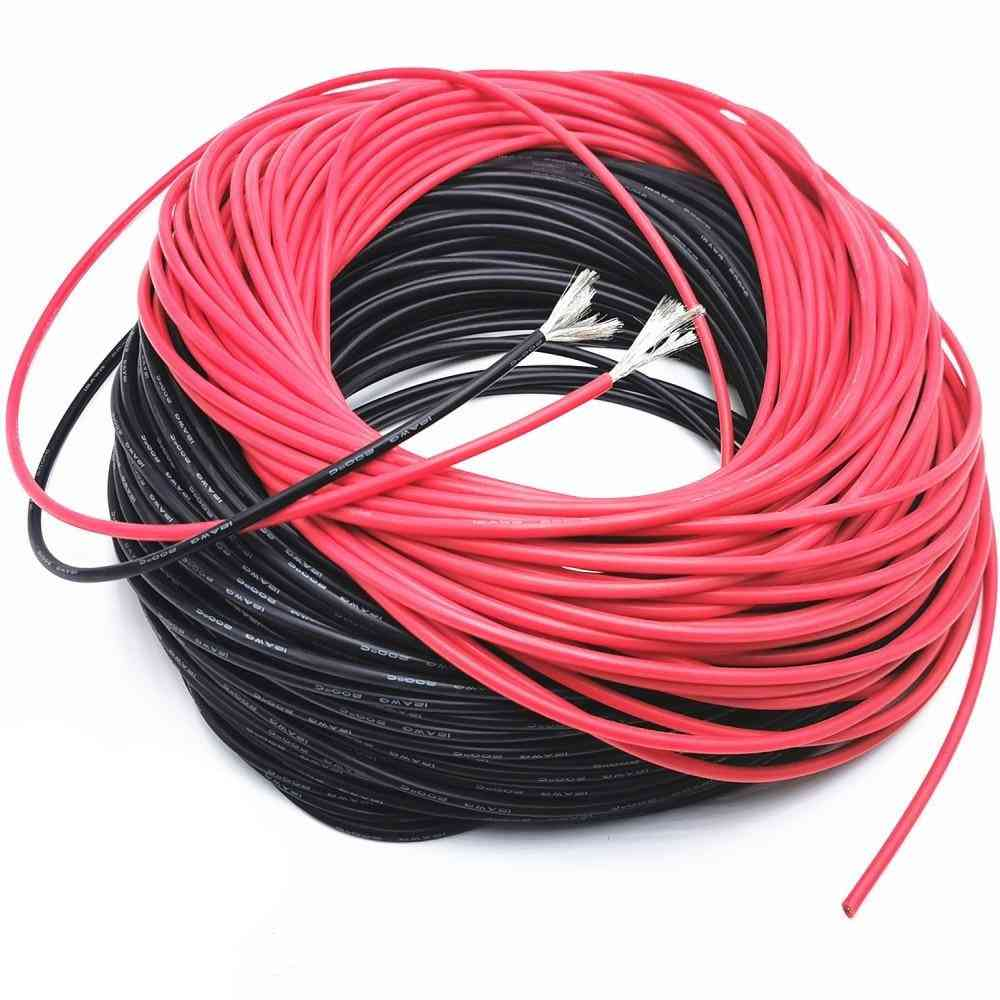 10 Meters Soft High Temperature Resistant Silicone Wire -from Silicone