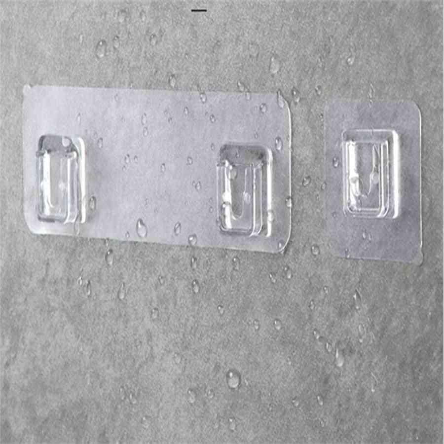 Home Plastic, Waterproof Shelf Sticky Hook Hanger