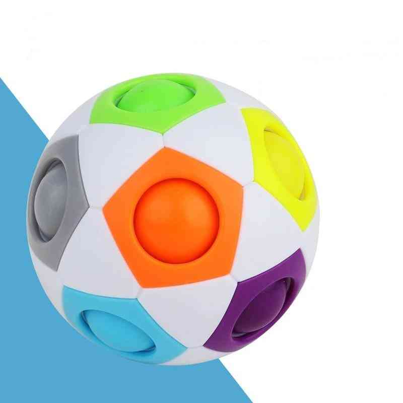 Fun Creative Spherical Magic Cubes - Learning Education Puzzle