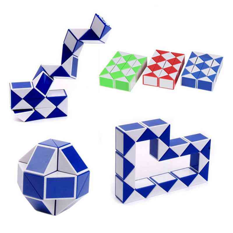 Magic Antistress Cube Twist - Snake Folding Ruler Educational Toy