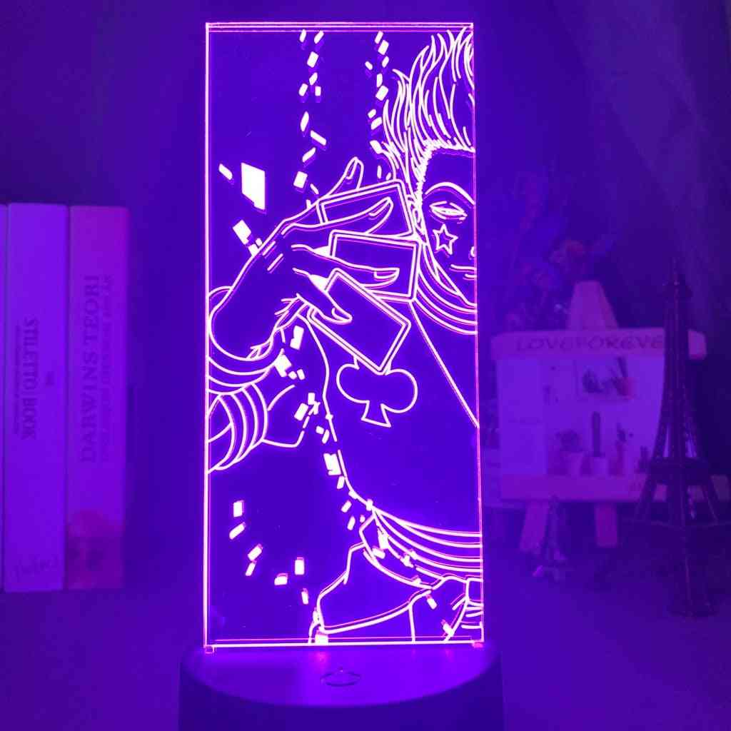3d Optical Illusion Night Light - Led Color Changing Lamp