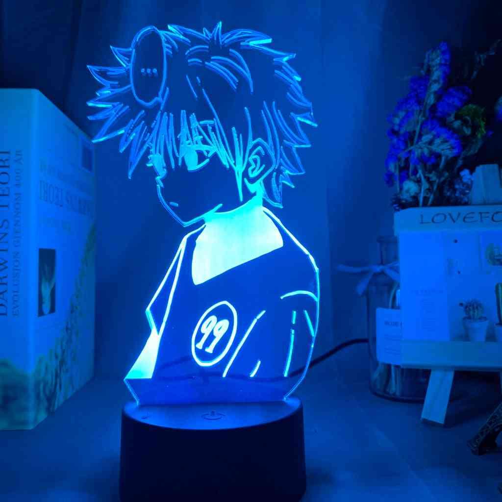 Optical Acrylic Panel, Anime Hunter X Figure-3d Led Night Light