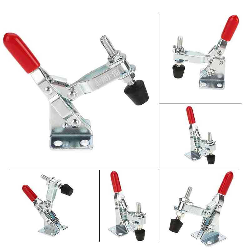 Anti-slip, U Shape Toggle Clamp- Vertical/horizontal Type With Rubber Cap Lever