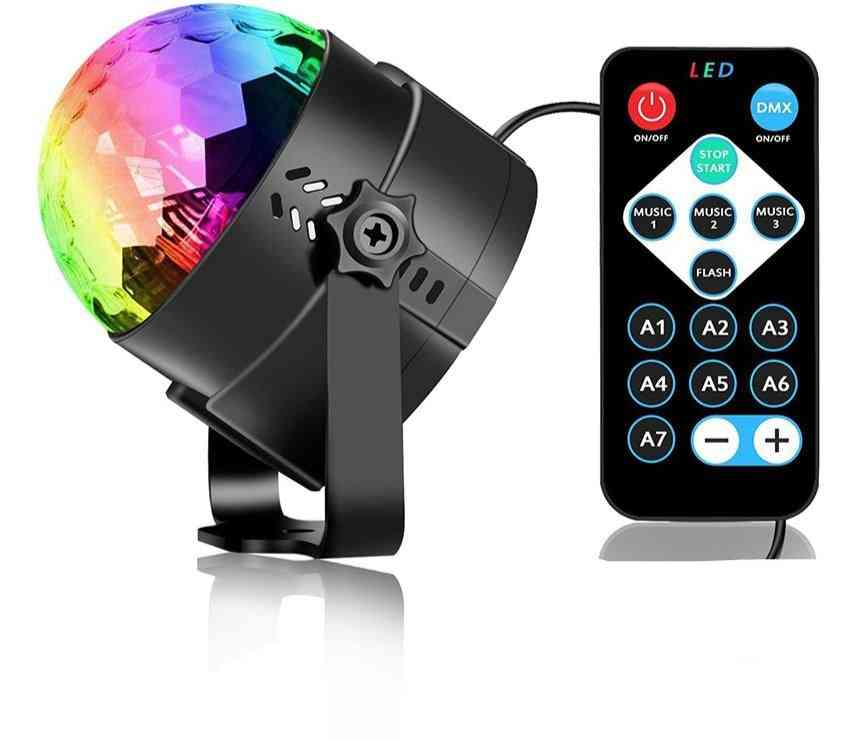 Sound Activated Rotating Disco Ball Party