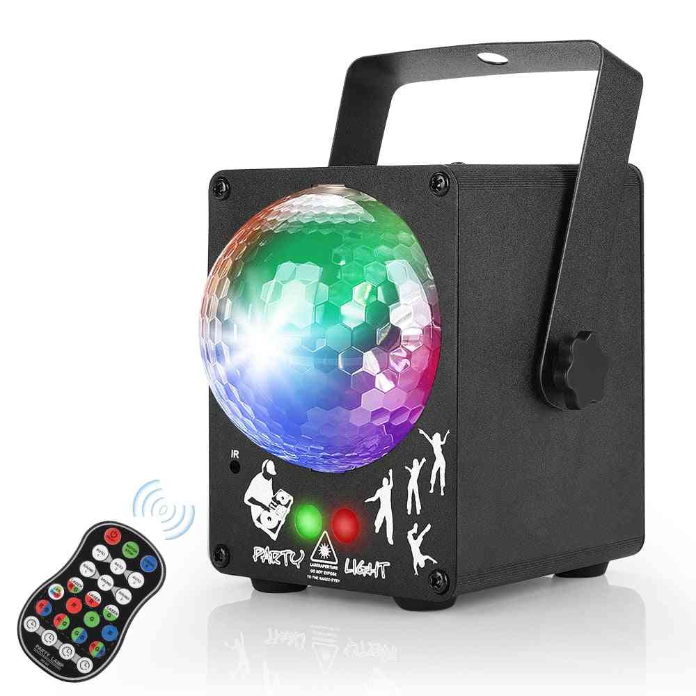 Led Disco Laser Light - Rgb Projector Party Lamp