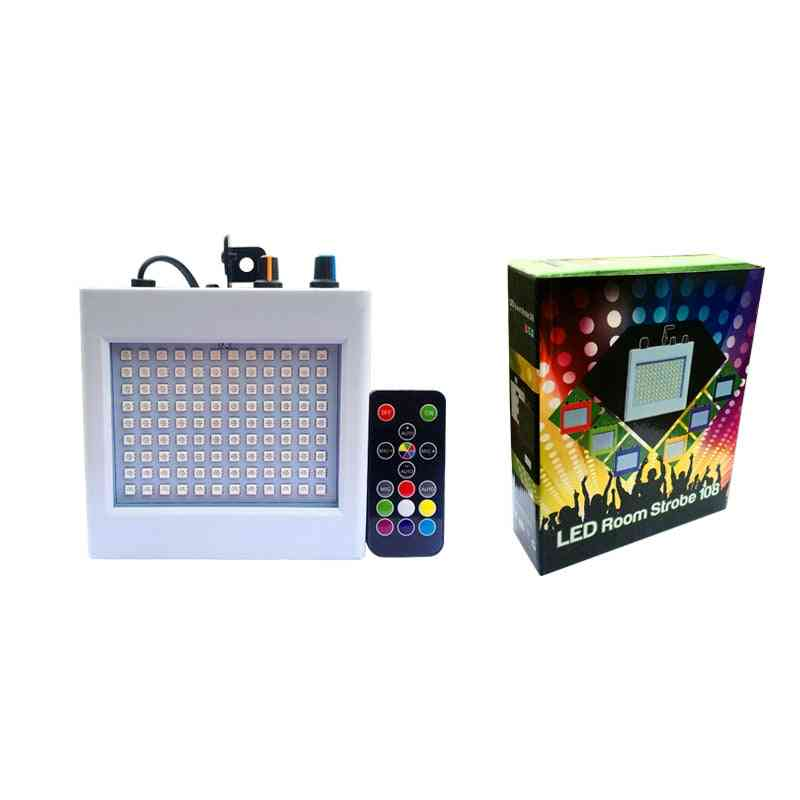 108 Led Mixed Flashing Stage Lights - Remote Sound Activated Disco Lamp