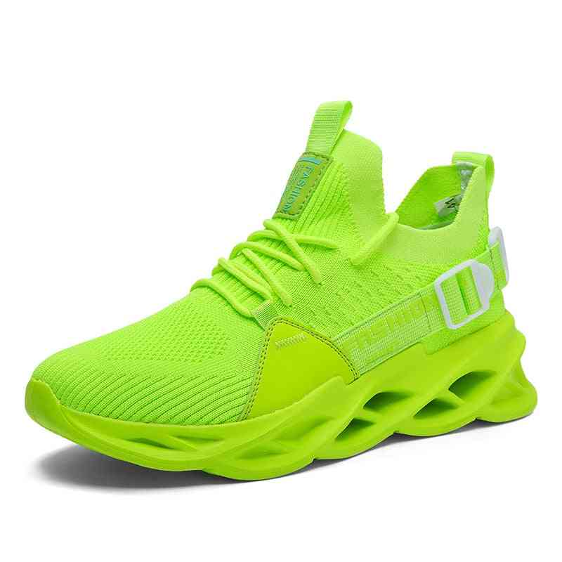 High Quality Lace-up Breathable Blade Sneakers Sports Shoes