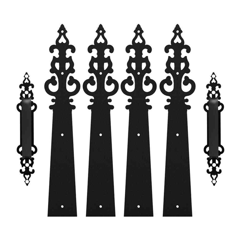 Braided Style, Decorative Door Handle Hinges
